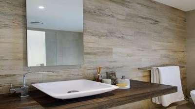 керамогранит в ванную комнату дизайн фото 3