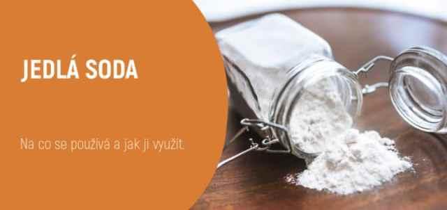 čištění bot jedlou sodou