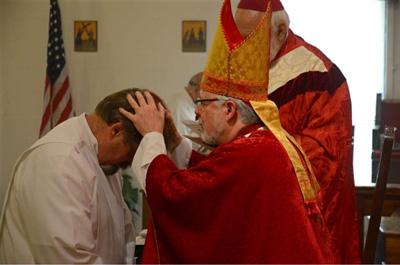 cistercian monk ordained