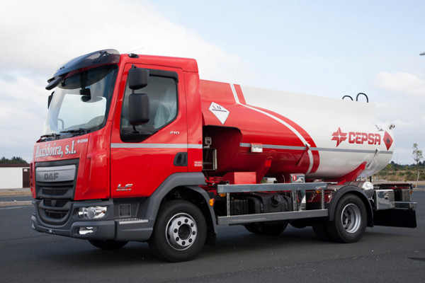 Cisternas sobre camión