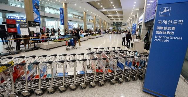 인천공항에서 카자흐스탄 국민 입국 거절 사례 증가해
