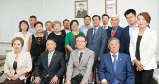 18기 민주평통 위원 위촉식 및 중앙아 협의회장 임명장 수여식 진행