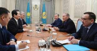 2018년 3월 15일 CIS 뉴스-정세균 국회의장과 나자르바예프 대통령 만남