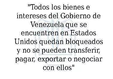 ¿De que se trata el bloqueo económico impuesto por Trump a Venezuela?