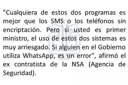 cita del ex contratista de la agencia NSA