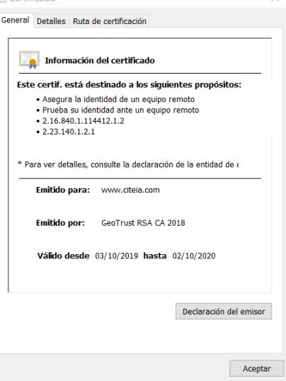 certificado SSL. como anticipar ataques maliciosos navegando por internet