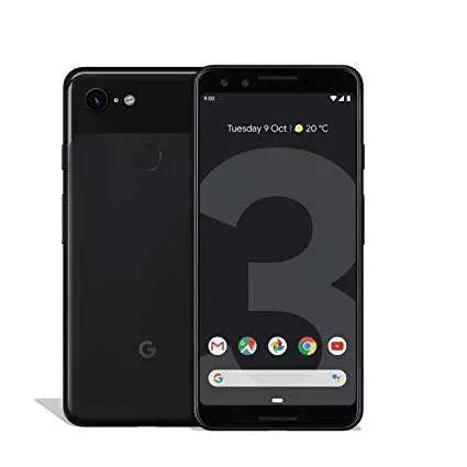 Imagen de Móvil Google Pixel 3 negro uno de los mejores móviles de 2019. Precio del móvil