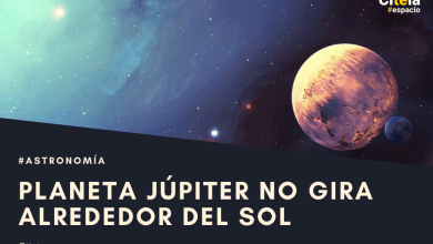 Jupiter se netočí kolem slunce