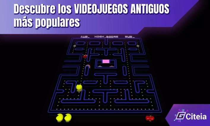 videojuegos antiguos mas conocidos, portada de artículo