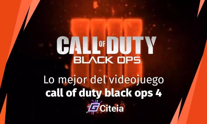 Lo mejor del videojuego Call of Duty Black Ops 4 portada de artículo