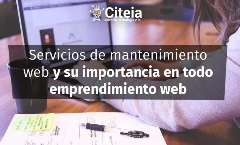 Servicios de mantenimiento web y su importancia en todo emprendimiento web portada de artículo
