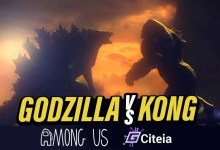 Mod Kong vs Godzilla para a capa do artigo Entre nós