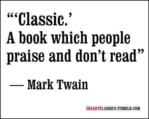 articole despre carti clasice Mark Twain