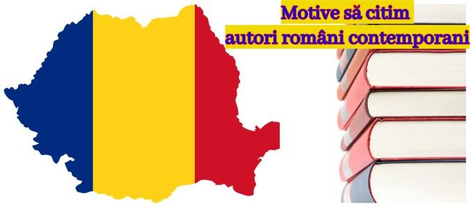 motive să citim autori români contemporani