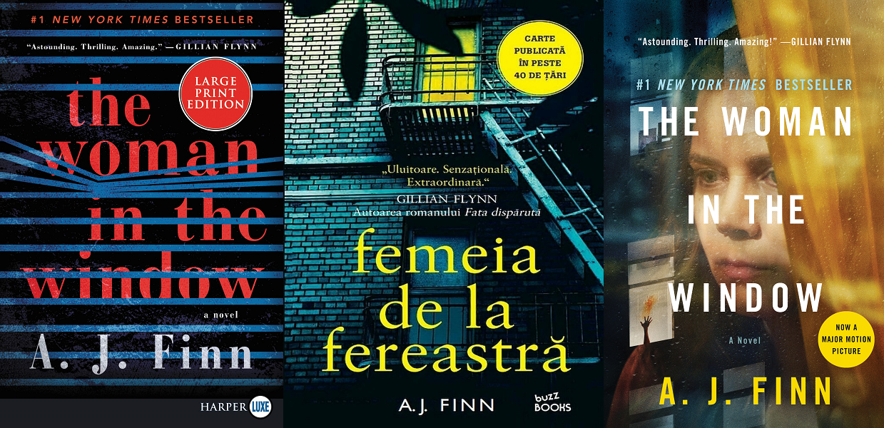 Femeia de la fereastra (Woman in the window) – A. J. Finn (Daniel Mallory)