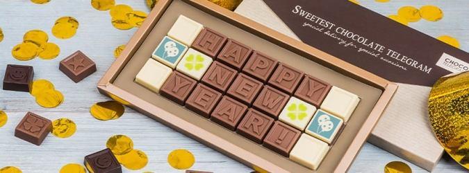 ChocoTelegrama Happy New Year