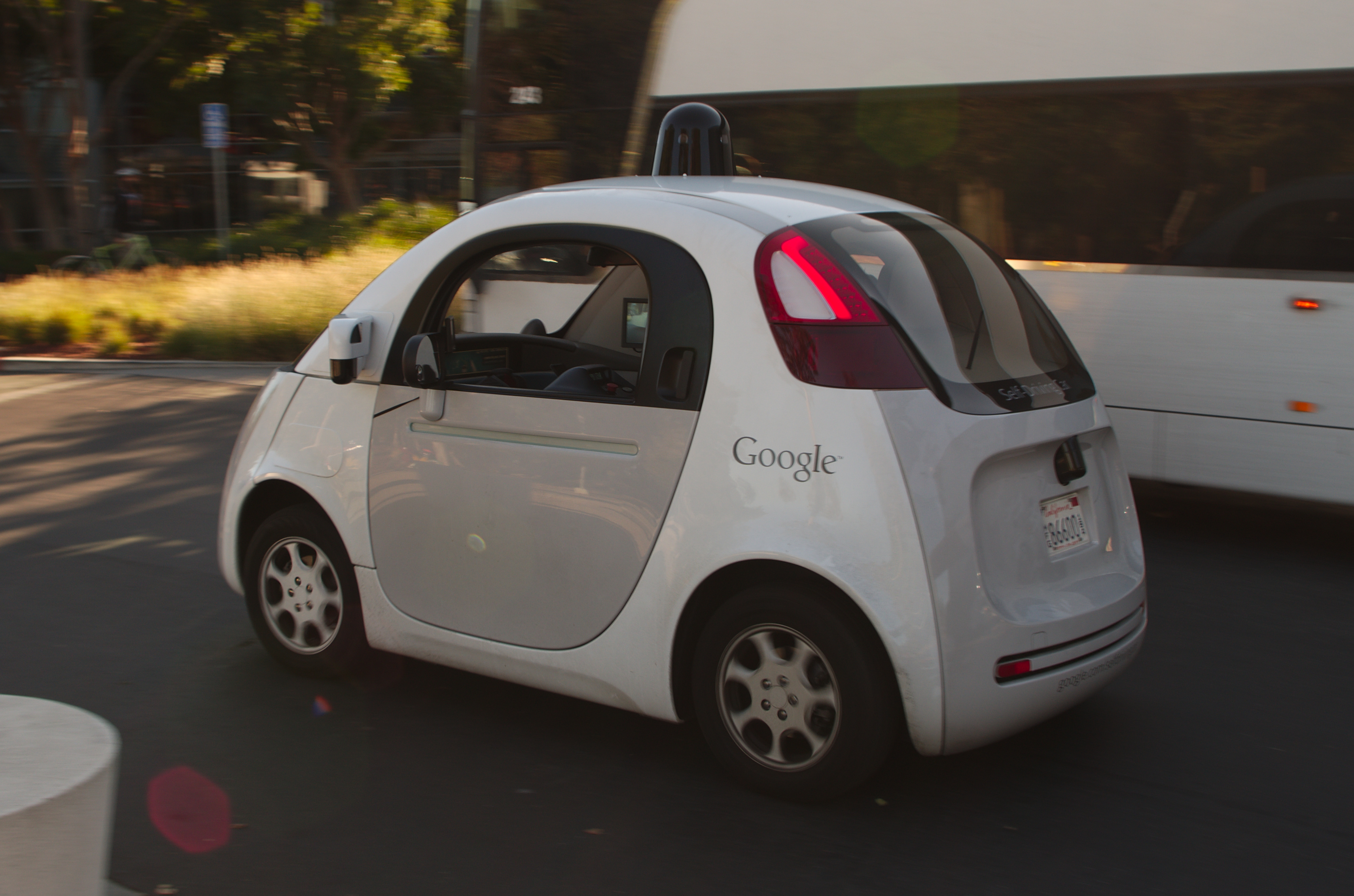What with self-driving cars in the city?