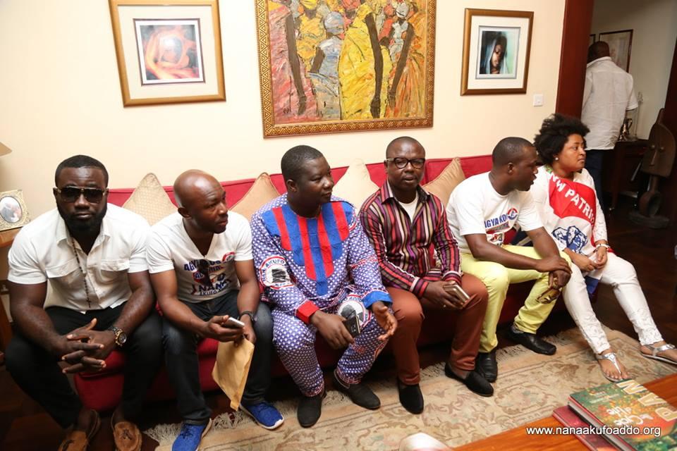 Image result for Agya Koo and nana addo pictures