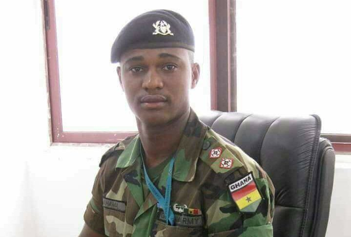 Captain Maxwell Mahama