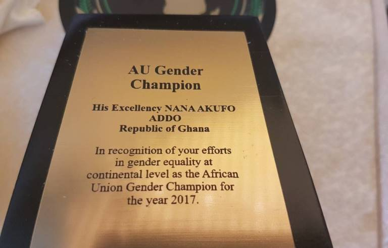 inscriptions-on-the-award-given-to-president-akufo-addo