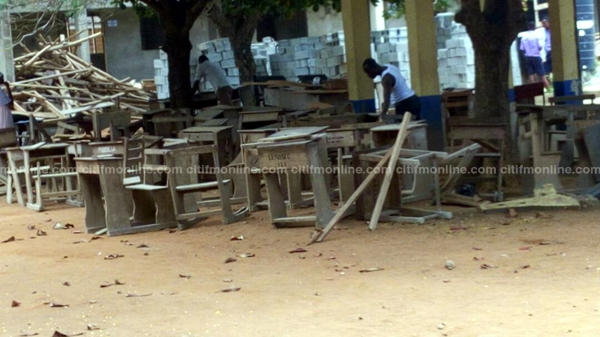 The need for furniture at La PRESEC compelled the head to ask for extra fees