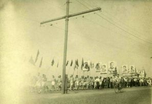 Авиастроители на первомайских демонстрациях: 1930-е годы