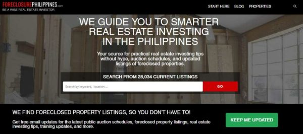 Foreclosure Philippines | Real Estate Property Finder