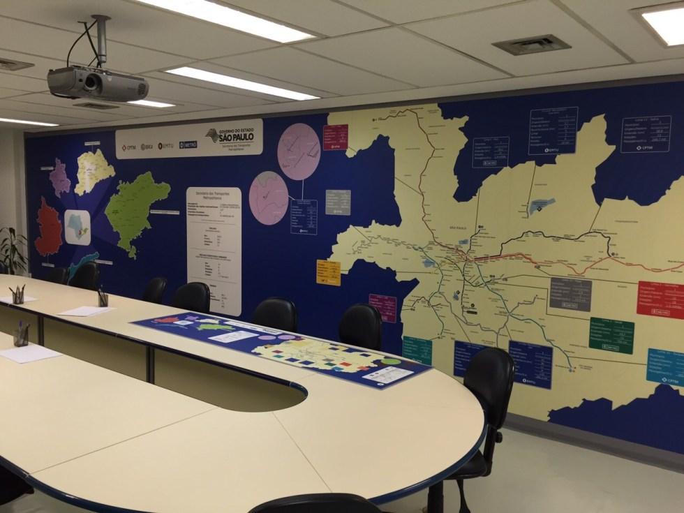 Mapa Secretaria dos Transportes