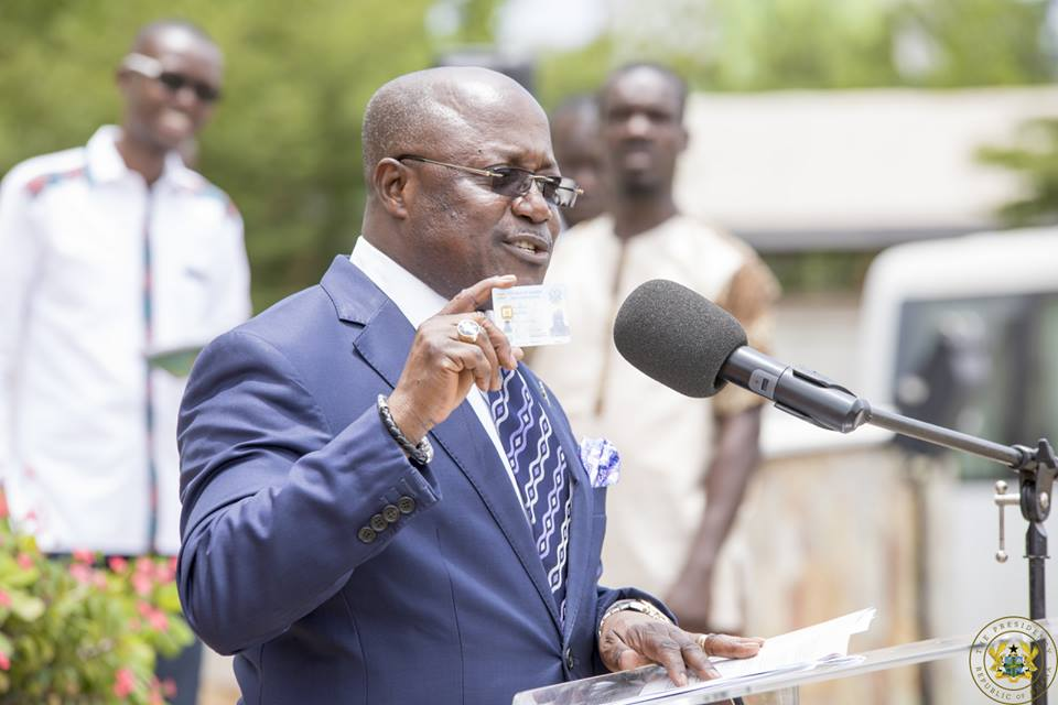 CEO of the National Identification Authority, Professor Ken Attafuah