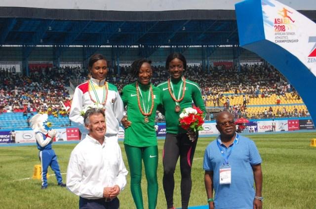 Asaba 2018: Janet Amponsah wins silver in women's 100m