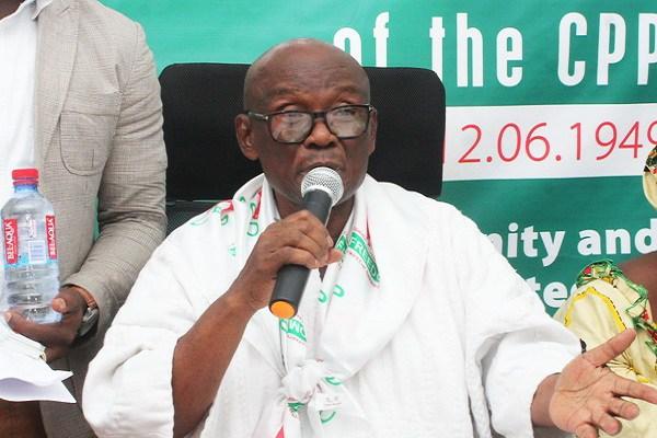Prof. Delle not running for presidency yet – Aide