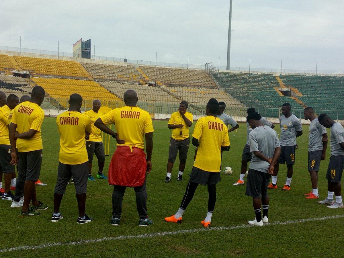AFCON 2019 Qualifiers: Black Stars begin training ahead of Sierra Leone match