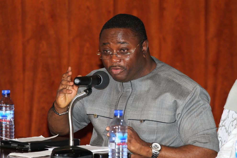 'You can't fight corruption involving party financiers' – Afriyie Ankrah