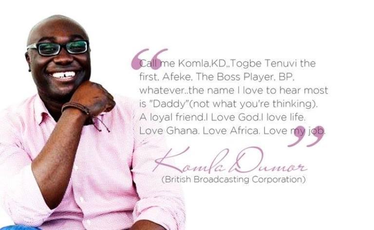 Herbert Mensah remembers Komla Dumor on his '46th birthday' today