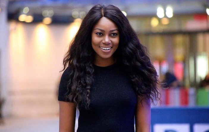 Yvonne Nelson escapes accident after plane caught fire in New York