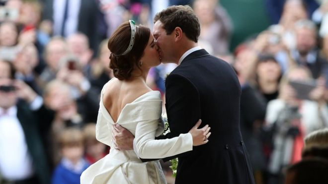 Princess Eugenie ties the knot