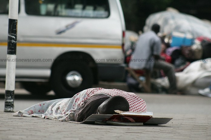 How Kwame Nkrumah Interchange became home for the homeless [Photos]