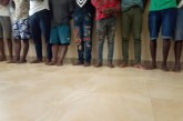 C/R: 16 suspected robbers arrested at Gomoa Akotsi
