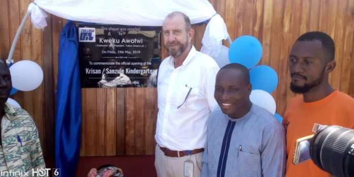 Tullow inaugurates ultra-modern kindergarten for Krisan-Sanzule community 4