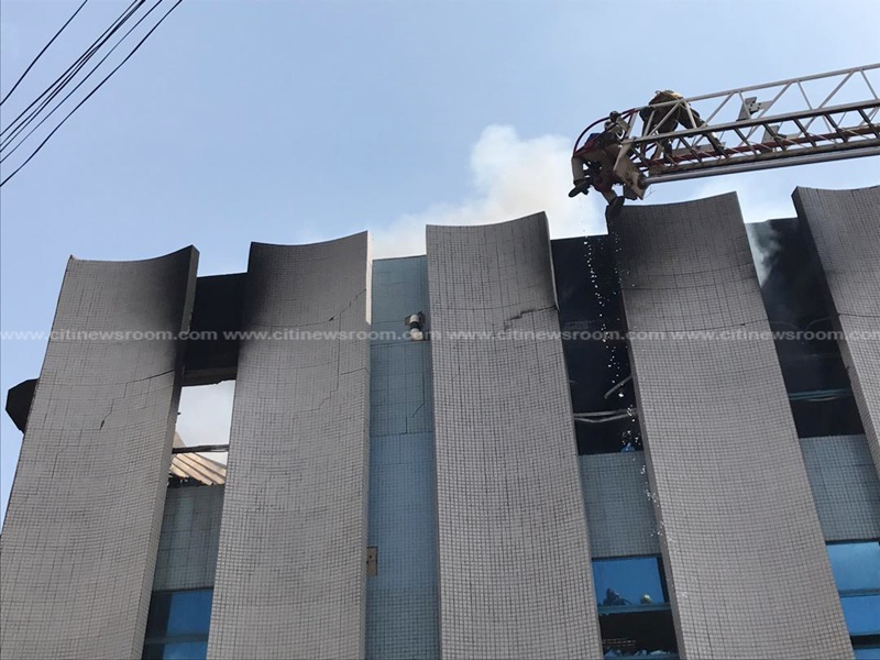 Fire service bring GRA office fire under control after two-hour battle (3)
