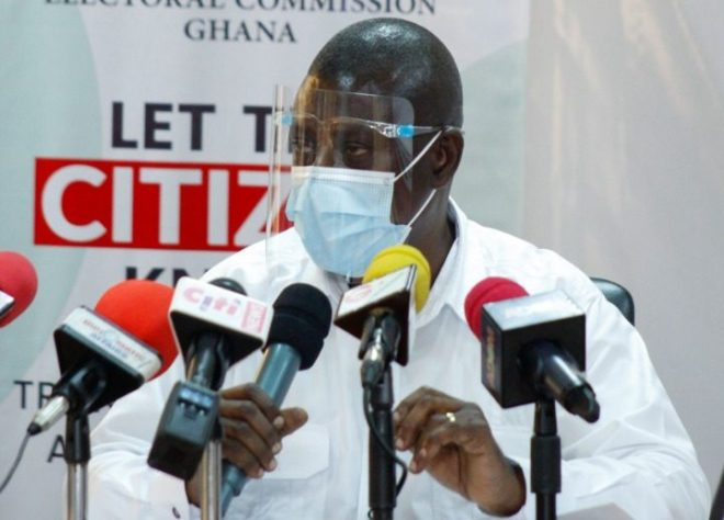 Deputy Chairman of the Electoral Commission in charge of Operations, Samuel Tettey