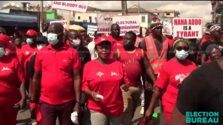 WR: NDC demonstrates against EC to demand Tarkwa, Essikado-Ketan seats 2