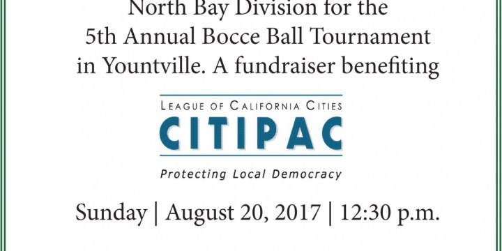 North Bay Division 5th Annual Bocce Ball Tournament