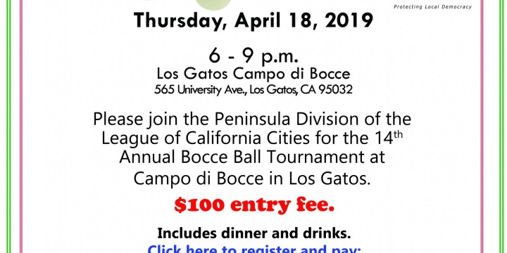 Peninsula Division 14th Annual Bocce Ball Tournament