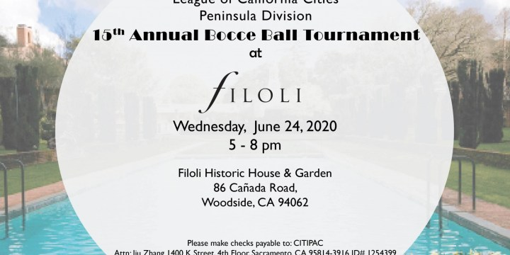 Peninsula Division 15th Annual Bocce Ball Tournament