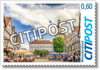 CITIPost Weserbergland - Schaumburg - Einzelmarken A1 Druck
