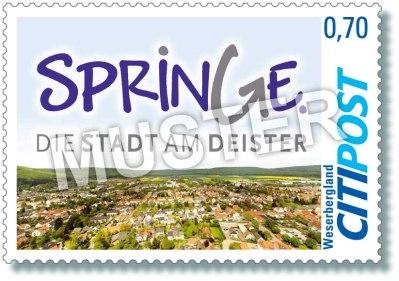 CITIPost Weserbergland - Springe 2019 - Einzelmarken