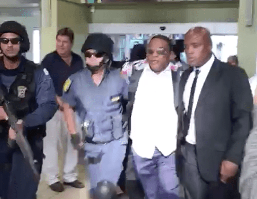 Pastor Timothy Omotoso getting arrested by SAPS in April 2017