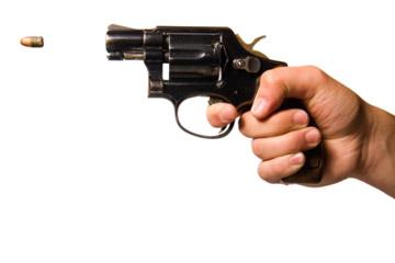Gun shot.