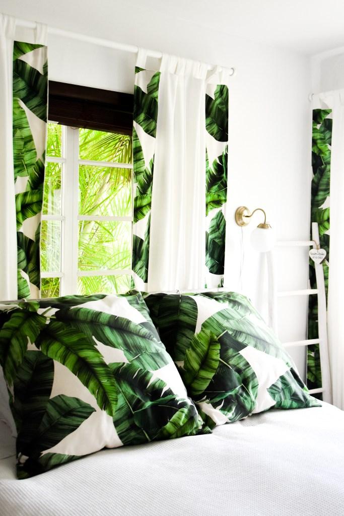 Slaapkamer, in tropische sferen
